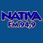 Logo da emissora Rádio Nativa 94.9 FM