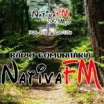 Logo da emissora Rádio Nativa FM 104.9