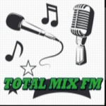 Logo da emissora Rádio Total Mix FM