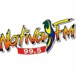 Logo da emissora Rádio Nativa 99.5 FM