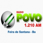 Logo da emissora Rádio Povo 1210 AM
