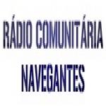 Logo da emissora Rádio Navegantes 87.7 FM