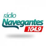 Logo da emissora Rádio Navegantes 104.9 FM