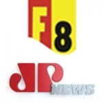 Logo da emissora Rádio Jovem Pan News F8 1540 AM