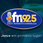 Logo da emissora Rádio Nordeste Evangélica 92.5 FM