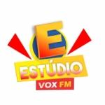 Logo da emissora Rádio Estúdio Vox FM