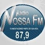 Logo da emissora Rádio Nossa FM 87.9 FM