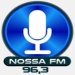 Logo da emissora Rádio Nossa FM 96.3