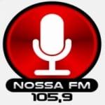 Logo da emissora Rádio Nossa FM 105.9