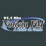 Logo da emissora Rádio Notícia 95.5 FM