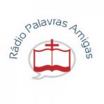 Logo da emissora Rádio Palavras Amigas