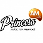 Logo da emissora Rádio Princesa 1130 AM