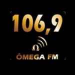 Logo da emissora Rádio Web Ômega 106.9 FM