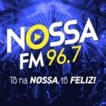 Logo da emissora Rádio Nossa FM 96