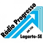 Logo da emissora Rádio Progresso 750 AM