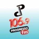 Logo da emissora Rádio Progresso 830 AM