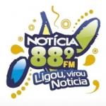 Logo da emissora Rádio Notícia 88.9 FM
