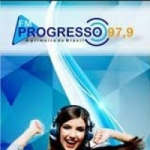 Logo da emissora Rádio Progresso 97.9 FM