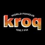 Logo da emissora Radio KROQ 106.7 FM