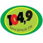 Logo da emissora Rádio Nova Geração 104.9 FM