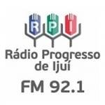 Logo da emissora Rádio Progresso 92.1 FM