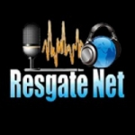 Logo da emissora Rádio Resgate Net