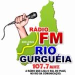 Logo da emissora Rádio Rio Gurguéia FM