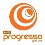 Logo da emissora Rádio Progresso 590 AM