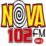 Logo da emissora Rádio Nova 102 FM