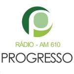 Logo da emissora Rádio Progresso 610 AM