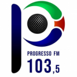 Logo da emissora Rádio Progresso FM 103.5