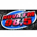 Logo da emissora Rádio Nova 98.5 FM
