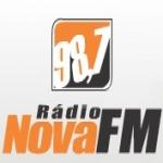 Logo da emissora Rádio Nova 98.7 FM
