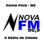 Logo da emissora Rádio Nova 96.9 FM