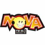 Logo da emissora Rádio Nova 88.3 FM
