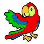 Logo da emissora Rádio Papagaio Rapadura