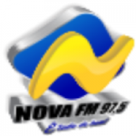 Logo da emissora Rádio Nova 97.5 FM