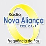 Logo da emissora Rádio Nova Aliança 91.1 FM