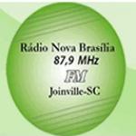Logo da emissora Rádio Nova Brasília 87.9 FM