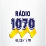 Logo da emissora Rádio Prudente 1070 AM