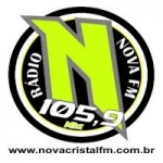 Logo da emissora Rádio Nova Cristal 105.9 FM