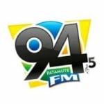 Logo da emissora Rádio Patamuté 94.5 FM