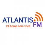 Logo da emissora Rádio Atlantis FM