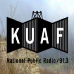Logo da emissora Radio KUAF 91.3 FM
