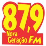 Logo da emissora Rádio Nova Geração 87.9 FM