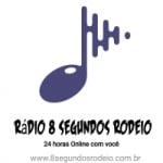 Logo da emissora Rádio 8 Segundos Rodeio