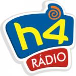 Logo da emissora Rádio H4