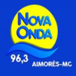Logo da emissora Rádio Nova Onda 96.3 FM