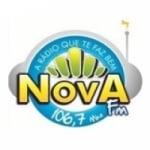 Logo da emissora Rádio Nova Gravatá 106.7 FM