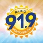 Logo da emissora Rádio Pôr do Sol FM 91.9